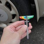 【タイヤ交換のタイミング】残り溝の測り方~デプスゲージの使い方について~
