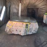 【F31レパード】ボンネットの再塗装